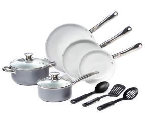Master Cuisine Gray Ceramic 10 Piece Cookware Set Big Lots