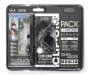 Gray Sport Pack Earphones 2 Pack in Package Silo Image
