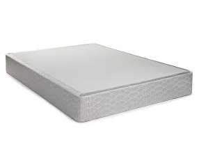 serta full gray box spring big lots. Black Bedroom Furniture Sets. Home Design Ideas