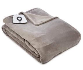 Serta Perfect Sleeper Gray Twin Electric Blanket Big Lots