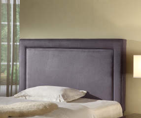 Gray Upholstered Full Queen Headboard Big Lots