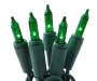 Green Mini Light Set 150 Count Bundle Out of Package Silo Image