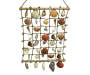 Grid Dangling Seashell Rope Hanger Decoration