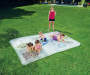 H2O Go Fun Sketching Art Blobz Water Mat 9 Feet 10 Inches by 6 Feet 7 Inches with Children Models Outdoor Setting Lifestyle Image