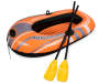 H2O Go Kondor 1000 Single Person Inflatable Raft and Oar Set silo top view