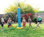 H2O Go Tetherball Splasher in Use with Children Models Outdoor Setting Lifestyle Image