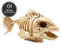 Halloween Animated Piranha Skeleton Silo