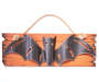 Halloween Bat Marquee Wall Decor Overhead Shot Silo Image