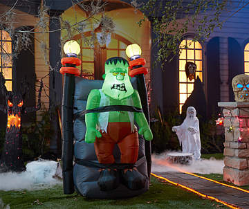 1000 4000 halloween shaking monster lights outdoor collection - Halloween Outdoor Lights