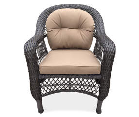 Wilson Amp Fisher Hampstead Resin Wicker Patio Chair Big Lots