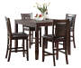 Harlow 5-Piece Pub Table & Chair Set