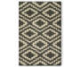 Harlow Gray Accent Rug 30 by 46 Silo