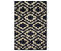 Harlow Navy Accent Rug 30 by 46 Silo