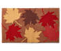 Harvest Leaves Hook Rug 18 Inches by 30 Inches Overhead Shot Silo Image