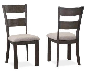 13000 Stratford Hayden Wire Brush Dining Chairs
