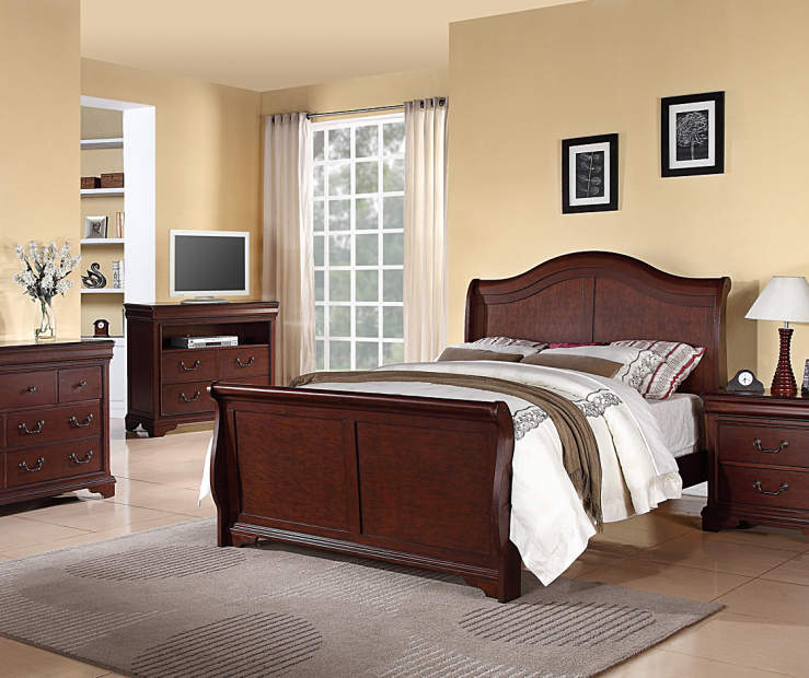King Sleigh Bed Big Lots