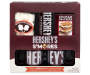 Hershey Mug and S'mores Gift Set In Package Overhead View Silo Image
