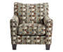 Hillspring Accent Chair Front View Silo Image