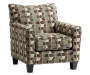 Hillspring Accent Chair Side View Silo Image
