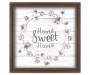 Home Sweet Home Framed Wall Plaque silo front