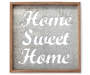 Home Sweet Home Inverse Box Metal Wall Décor Silo