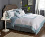 Hotel Cloud Blue & White 8-Piece Queen Comforter Set