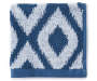 Ikat Blue Wash Cloth Silo