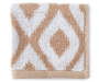 Ikat Tan Wash Cloth Silo