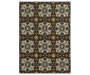 Ingle Brown Area Rug 6FT7IN x 9FT3IN Silo Image