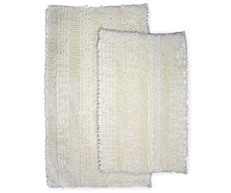 Just Home Gray Chenille Bath Rug Set 2 Pack Big Lots