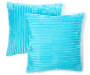 JH RIBBED 2PK DEC PILLOW CAPRI BLUE 17IN