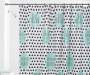 JH SHOWER CURTAIN PEVA 13PC SET PD WORDS