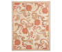 Jacobean Monaco Collection Area Rug 60 by 79 Inches Silo