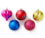 Jewel Shatterproof Ornaments, 30-Pack