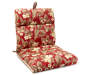 Jules Floral & Stripe Reversible Outdoor Chair Cushion