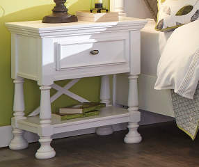 Signature Design By Ashley Kaslyn White Nightstand Big Lots