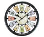 Kaleidoscope Wall Clock Silo