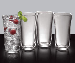 Libbey Kava Cooler 4 Piece Glassware Set Big Lots