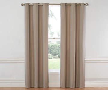 Curtains curtain rods window treatments big lots for Exterior no chain window shade