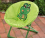 Kids Green Frog Saucer Chair lifestyle