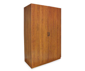 Ameriwood Cherry Storage Wardrobe Big Lots