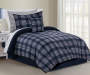 Kyle Plaid 6-Piece Twin Reversible Comforter Set Lifestyle Image