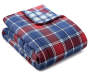 LC 12PC BIAB KING PROVIDENCE PLAID RED/BLUE