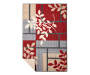 LC ACCENT RUG RED/GREY ELISE 30X46