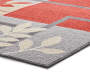LC AREA RUG RED/GREY ELISE 5X7