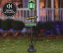 LED Lamp Post with Sound, (5')