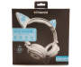 LIGHT UP LED CAT HEADPHONES WHITE