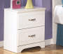 LULU WHITE NIGHTSTAND