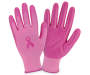 Ladies Pink Breast Cancer Awareness Utility Gloves