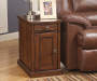 Laflorn Brown Console End Table